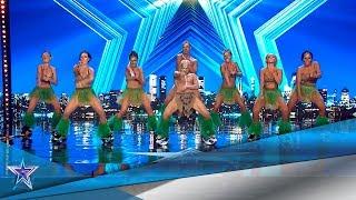 ¡El JURADO y SANTI SALTAN y a BAILAN con esta PANDILLA! | Audiciones 4 | Got Talent España 5 (2019)