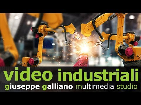 video industriale - produzione video industriali macchinari Galliano 2019)