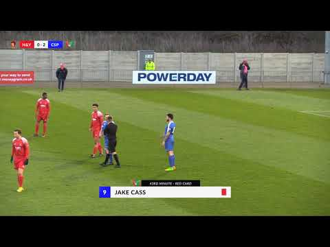Hayes & Yeading v Chalfont St Peter - 9th Dec 2017