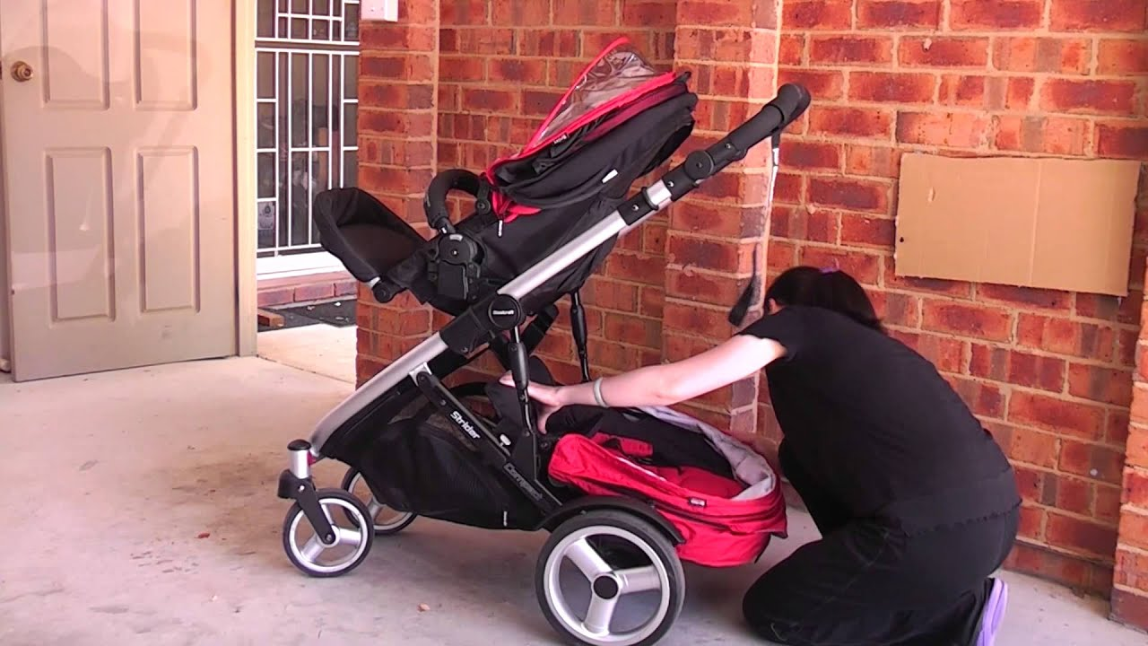 Steelcraft Strider Compact Stroller How To Add Second
