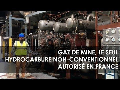 Gaz de mine, le seul hydrocarbure non-conventionnel autorisé en France