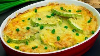 Запеченные кабачки с сыром - настолько вкусные, что не исчезнут со стола целое лето! | Appetitno.TV