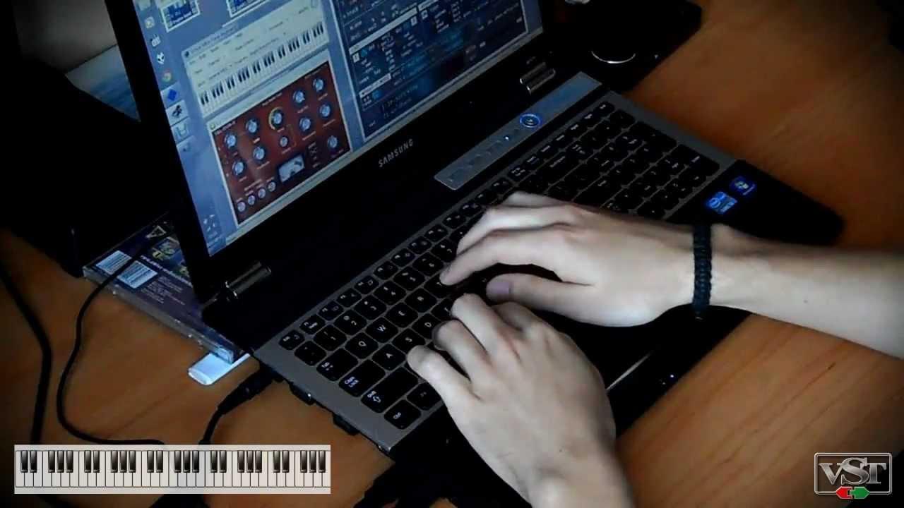 PC keyboard music