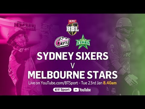 FULL MATCH: Sydney Sixers v Melbourne Stars (Jan 23, 2018) -