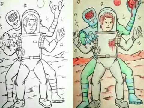 Dibujos Pintados Por Adultos Youtube
