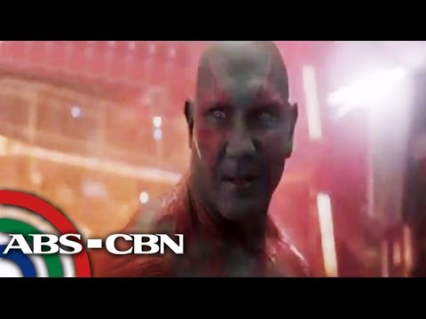 Batista stars as 'Drax' in newest Marvel film