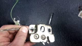 Электрозамок багажника на жигули ( классику )  ваз 2107