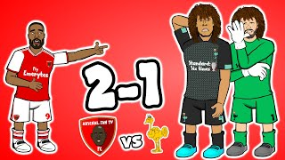 🔴Arsenal beat Liverpool! 2-1🔴 (Parody Goals Highlights Watchalong Ft Claude AFTV)