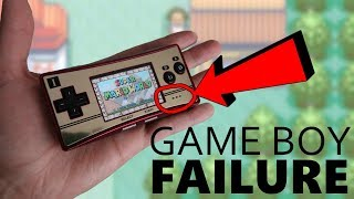 Why the Game Boy Micro failed
