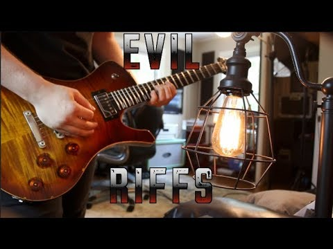 10 Most Evil Guitar Riffs