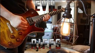 10 Most Evil Guitar Riffs