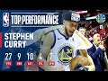 Stephen Curry Catches Fire In The 3rd To lead The Dubs' Comeback