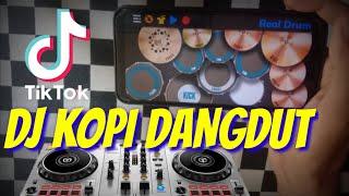 DJ KALAU KU PANDANG KELIP BINTANG JAUH DISANA - KOPI DANGDUT TIKTOK VIRAL REAL DRUM COVER