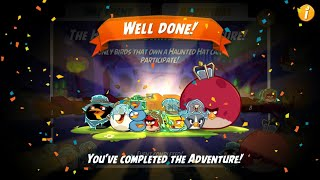 Angry Birds 2- HIDE & SHRIEK ADVENTURE Level 1-8 | The Dark Gaming screenshot 4