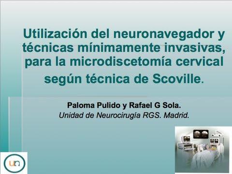 Neurorgs.net- Microdiscetomía cervical según técnica de Scoville