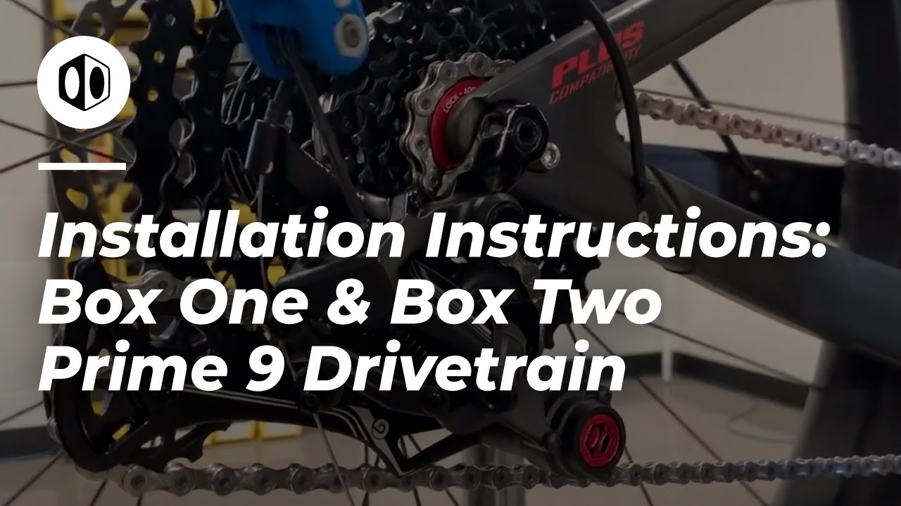 9-Speed Matte Onyx BOX Two Prime 9 Shifter Multi Shift