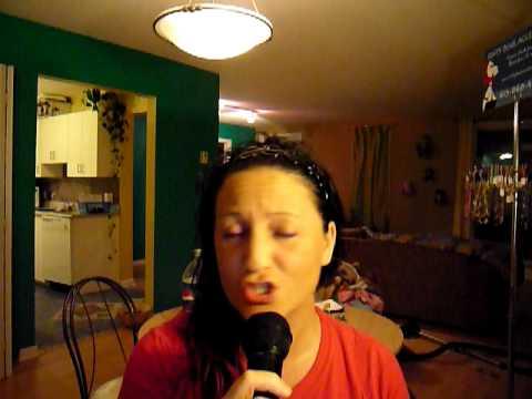 Sophie Barrette singing Céline Dion - Goodbye`s the saddest word