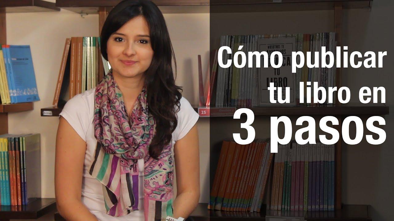 Cómo publicar un libro impreso en 3 pasos? - YouTube
