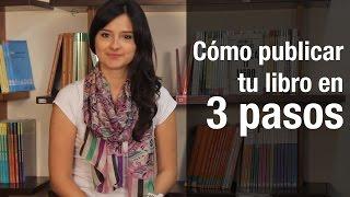 ¿Cómo publicar un libro impreso en 3 pasos?
