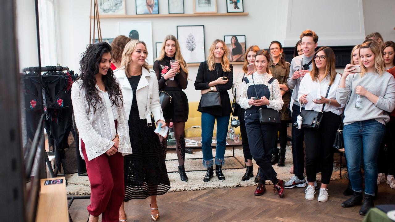 Event report: Anna Nooshin for Hunkemöller swimwear ...