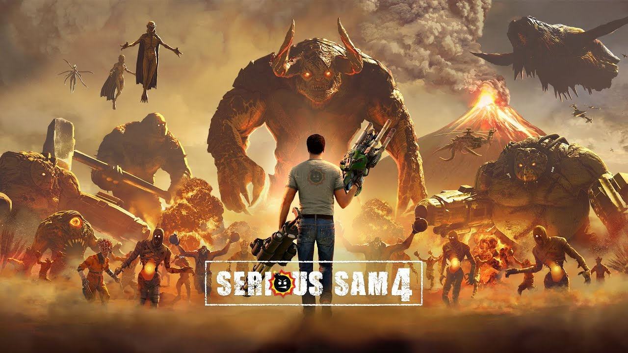 Serious Sam 4 gameplay trailer released