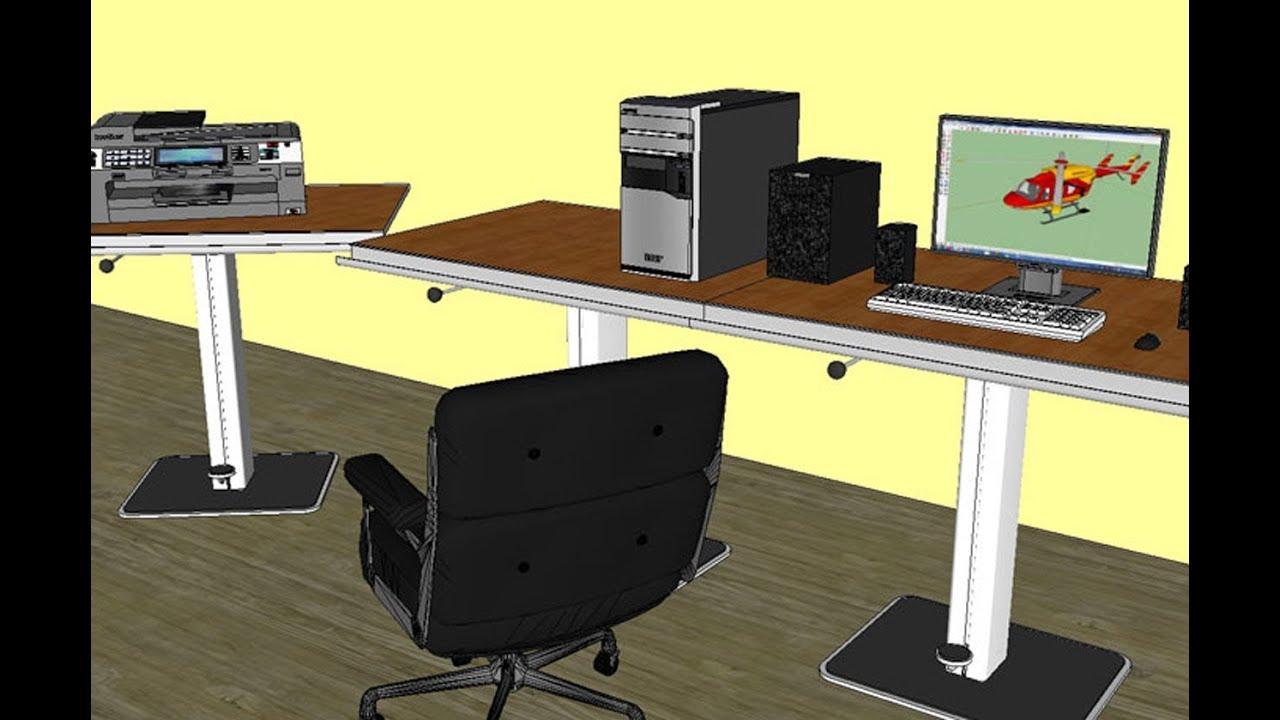 comment imprimer une chelle pr cise sur sketchup version gratuite youtube. Black Bedroom Furniture Sets. Home Design Ideas
