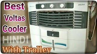 {Hindi} New Voltas air Cooler For Room 50 liter Window cooler Vmw50mw 2019