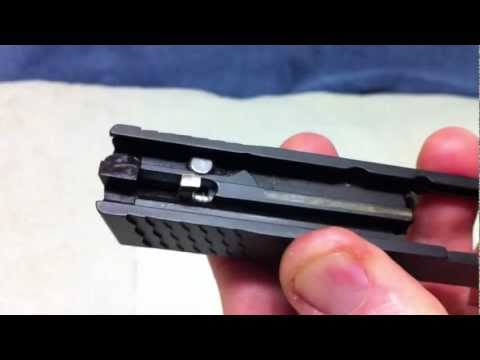 M&P Shield Slide Disassembly