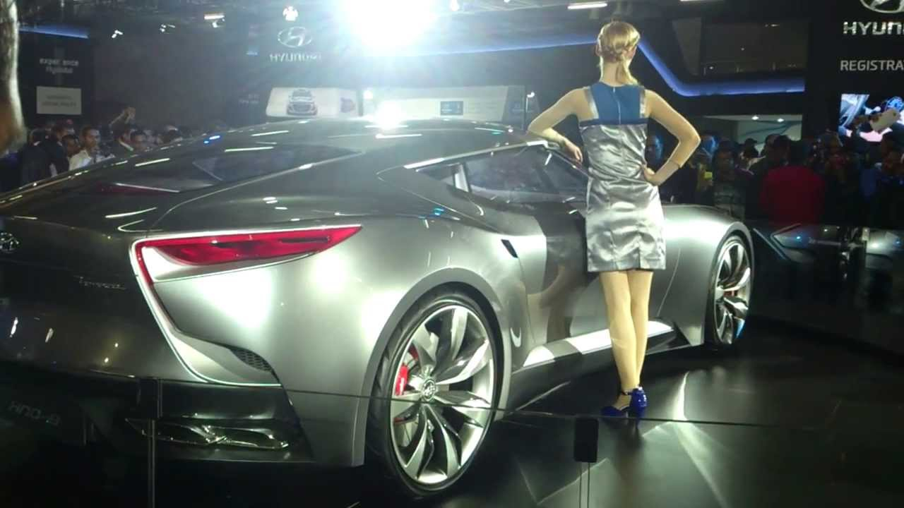 auto expo 2016 - hyundai concept car - youtube