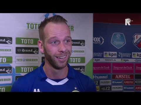Jesper van den Bosch na zijn goal: 'Bij ons zie je alleen maar hekwerken'