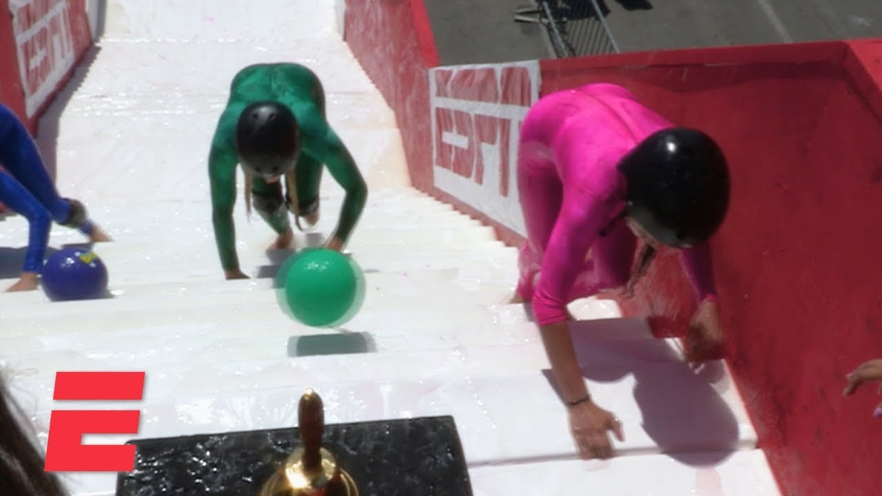 Download The first ever Slippery Stairs world championship | ESPN 8: The Ocho