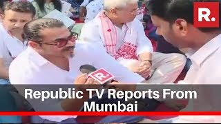 Republic Tv Reports From Mumbai Over The Ongoing Protests Against Cab