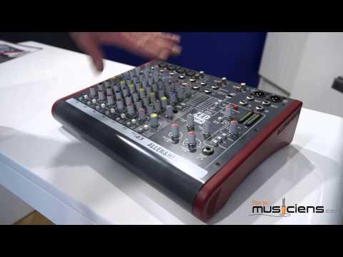 ALLEN&HEATH ZED 10FX - Table de mixage analogique