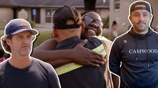 Hall of Fame Stars Help Clean Up Canton | Huddle For 100