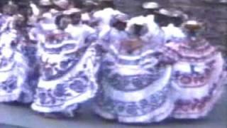 Panama, Folk Dances of - part 2- Tamborito, Punto, Denesa