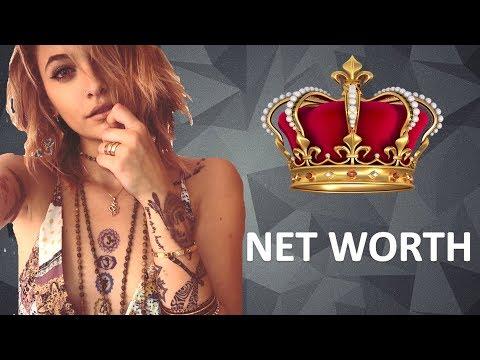 How Much Michael Jackson Daughter's Worth  [Paris Jackson Net Worth ]