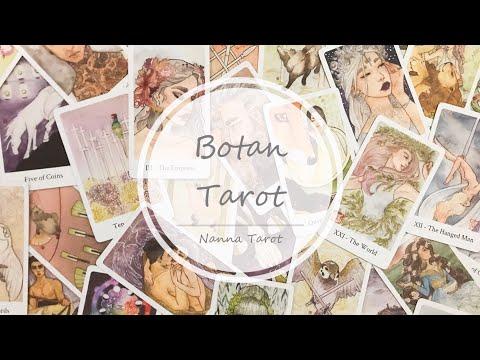 開箱  牡丹塔羅牌 • Botan Tarot  // Nanna Tarot