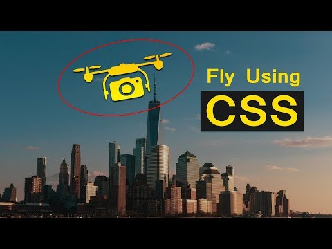 Moving Drone Using HTML CSS Jquery  | Mouse Move Animation Effect On Website thumbnail