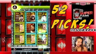 wwe supercard breaking 52 shards of glass