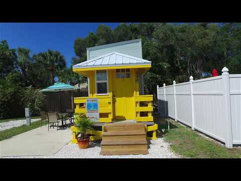 yellow-lifeguard-stand---tiny-house-video-tour