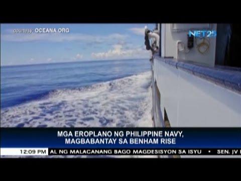 Philippine Navy deploys 2 aircrafts to patrol Benham Rise