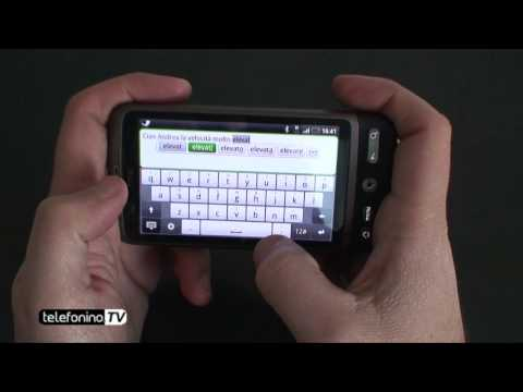 HTC Desire videoreview da Telefonino.net