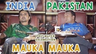 Mauka Mauka | When India and Pakistan go for a Movie Together | #CWC19 #v7pictures #INDvsAFG