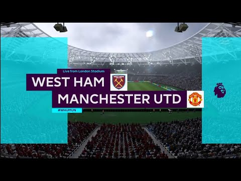 FIFA 18 | Premier League | West Ham v Manchester Utd | London Stadium