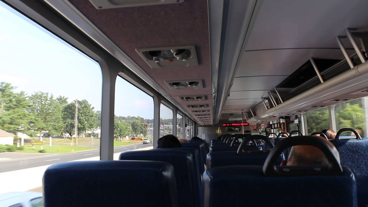 nj transit bus exclusive on board designline ecocoach cng 7206 on the 63x youtube. Black Bedroom Furniture Sets. Home Design Ideas