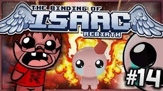 The Binding of Isaac: Rebirth - MY POOR HEART! (Episode 14)