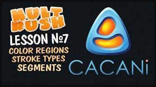 CACANi 2 Урок №7 Цветовые регионы, разделительные линии и сегменты