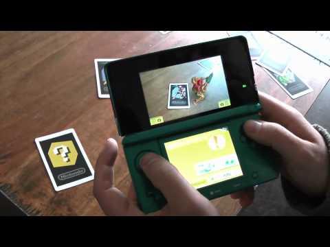 Nintendo 3DS Augmented Reality Games (erste Deutsche Version)