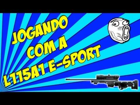 Point Blank - Jogando Com A L115A1 E-Sport - Sou Muito Baloso!