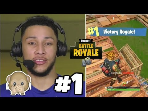 Ben Simmons And Karl-Anthony Towns Playing FORTNITE: